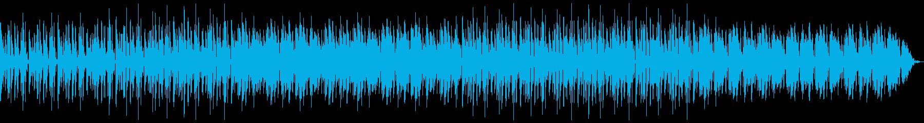 明るめのドラムンベースの再生済みの波形