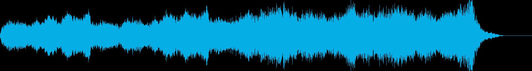 ド迫力のオーケストラサウンドの再生済みの波形