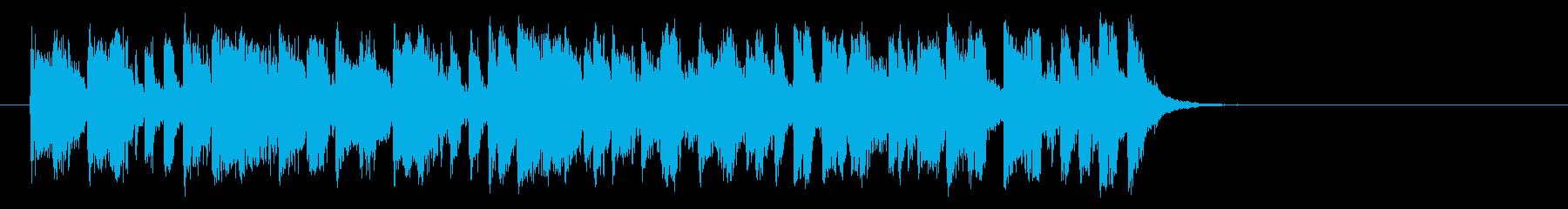 心を描くフュージョン(Aメロ)の再生済みの波形