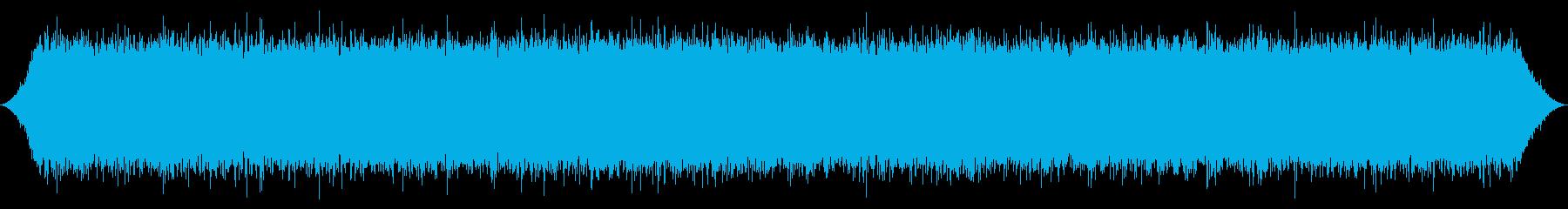 River:強力な低音とスプレーの再生済みの波形