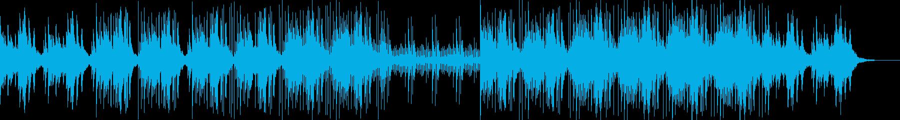 ドリーミーなアジアン調BGMの再生済みの波形