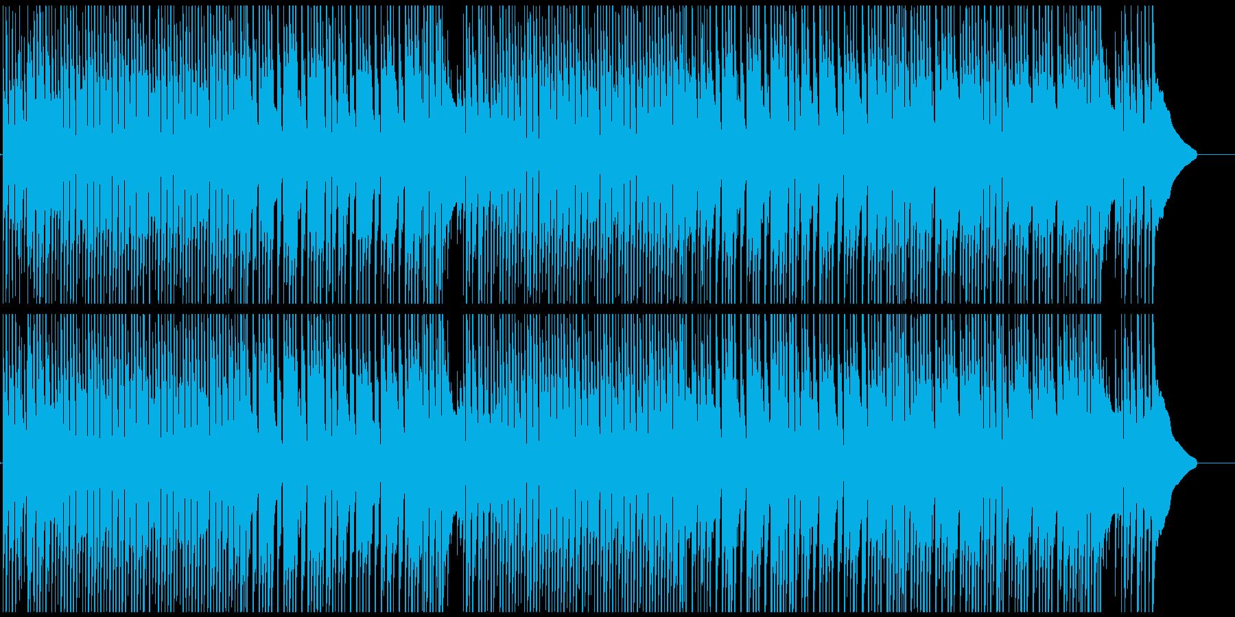 チャイニーズなメロディーのほのぼの曲の再生済みの波形