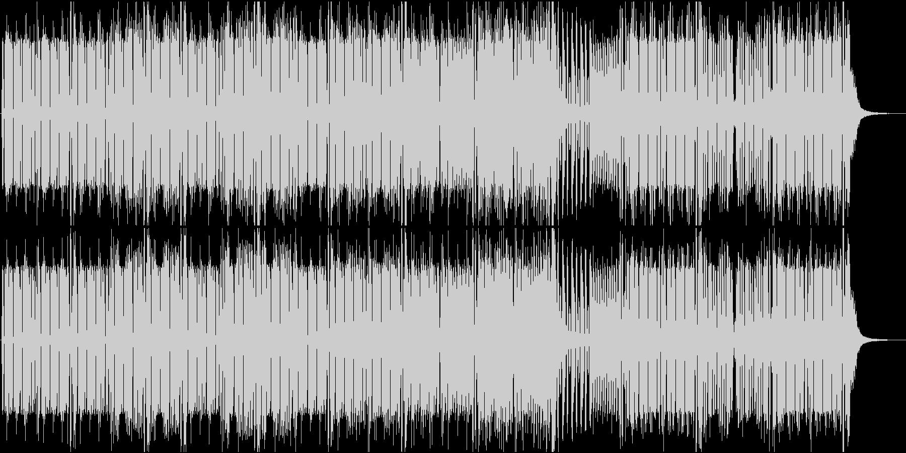 バイオリンを伴奏にした疾走感のあるEDMの未再生の波形