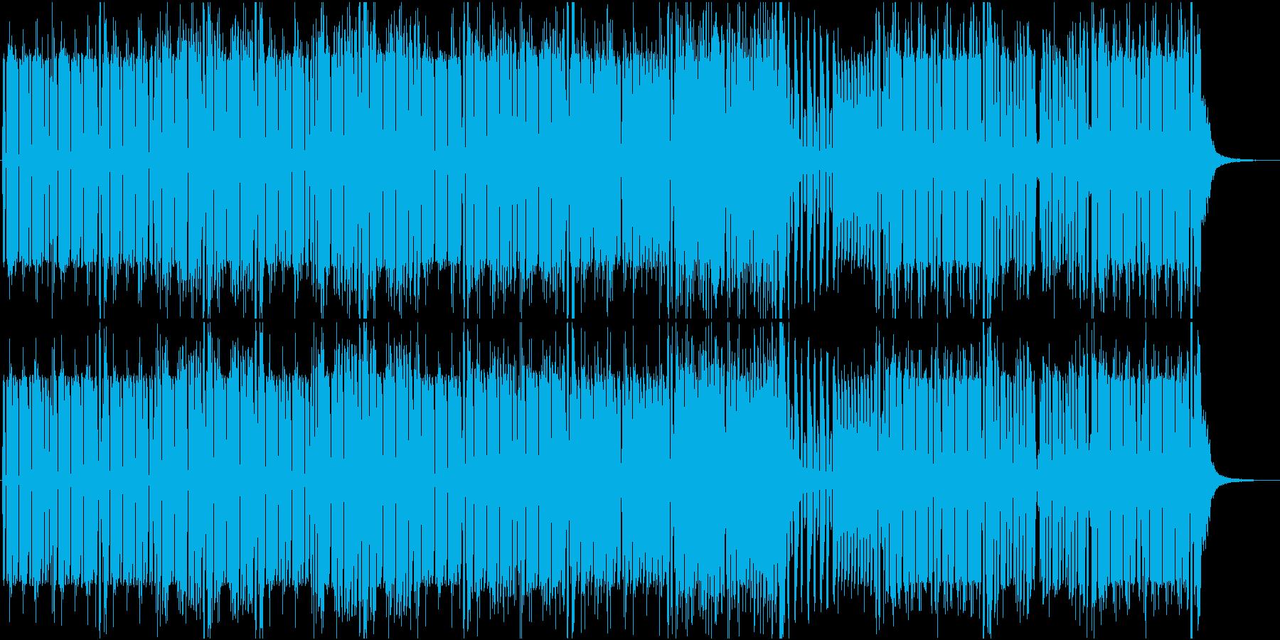 バイオリンを伴奏にした疾走感のあるEDMの再生済みの波形