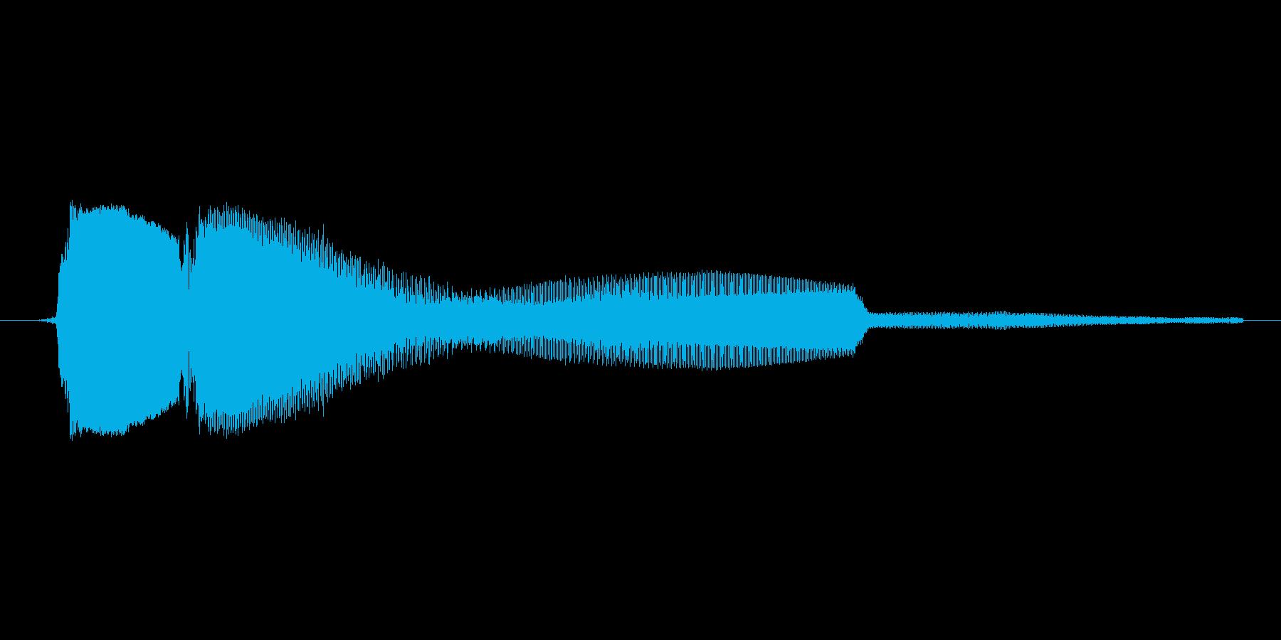 ゲーム、クイズ(ピンポン音)_003の再生済みの波形