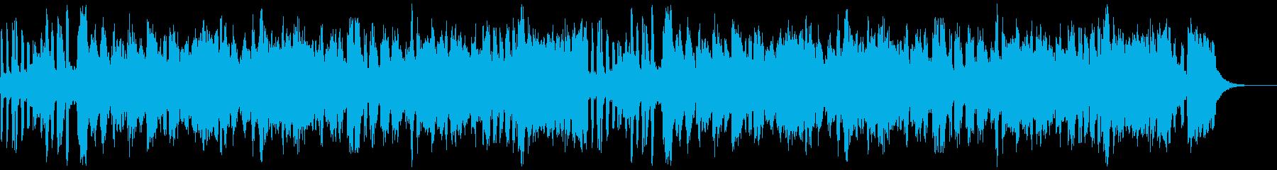 ジャズの再生済みの波形