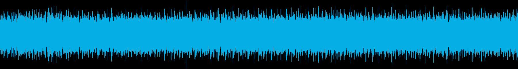 リューター音(ウィーーーー)の再生済みの波形