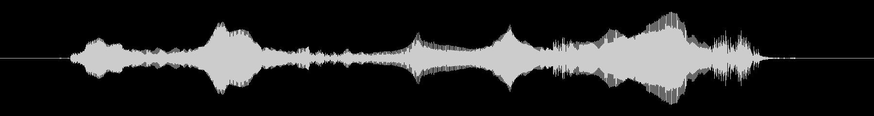 Baby G:幸せな発声の未再生の波形