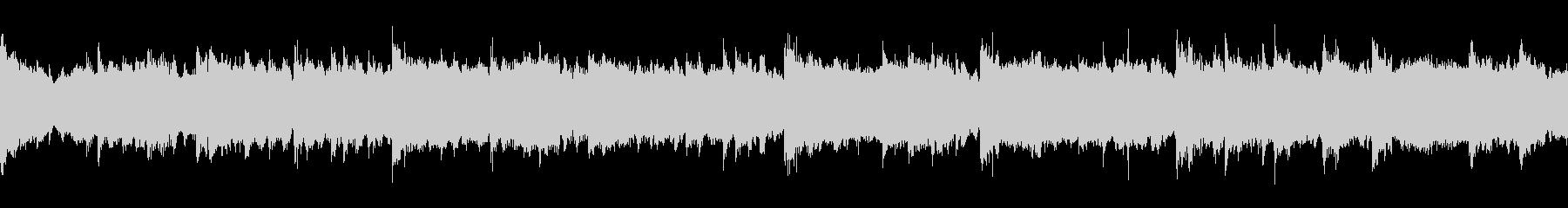 ストリングスとピアノのシリアスなループの未再生の波形