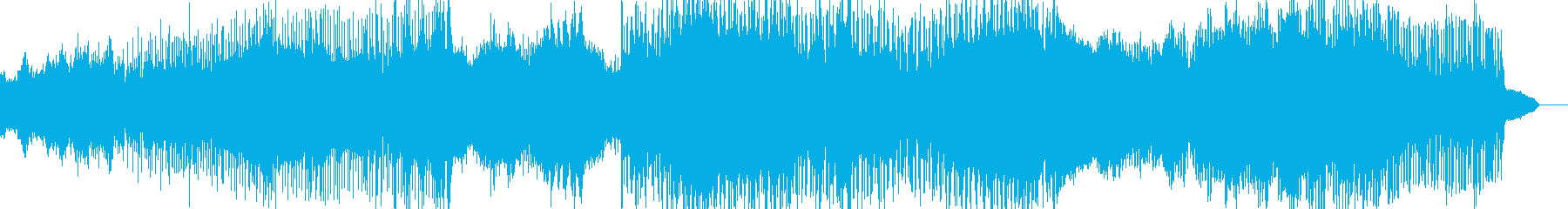 アンビエントロックー廃墟の再生済みの波形