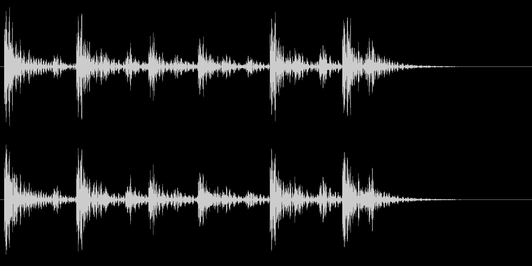 和太鼓アフリカ版Dunのフレーズ音+FXの未再生の波形