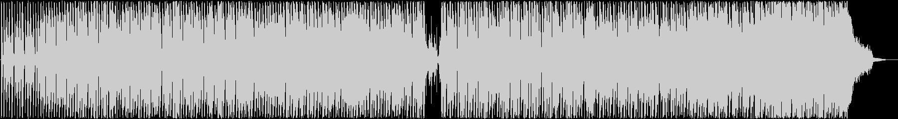 お気楽ハッピーな雰囲気のBGMの未再生の波形