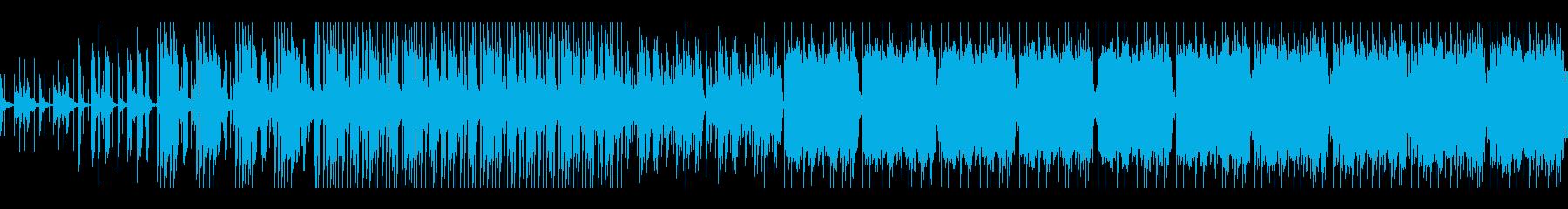 サイケデリックで妖艶なEDM(ループ可)の再生済みの波形