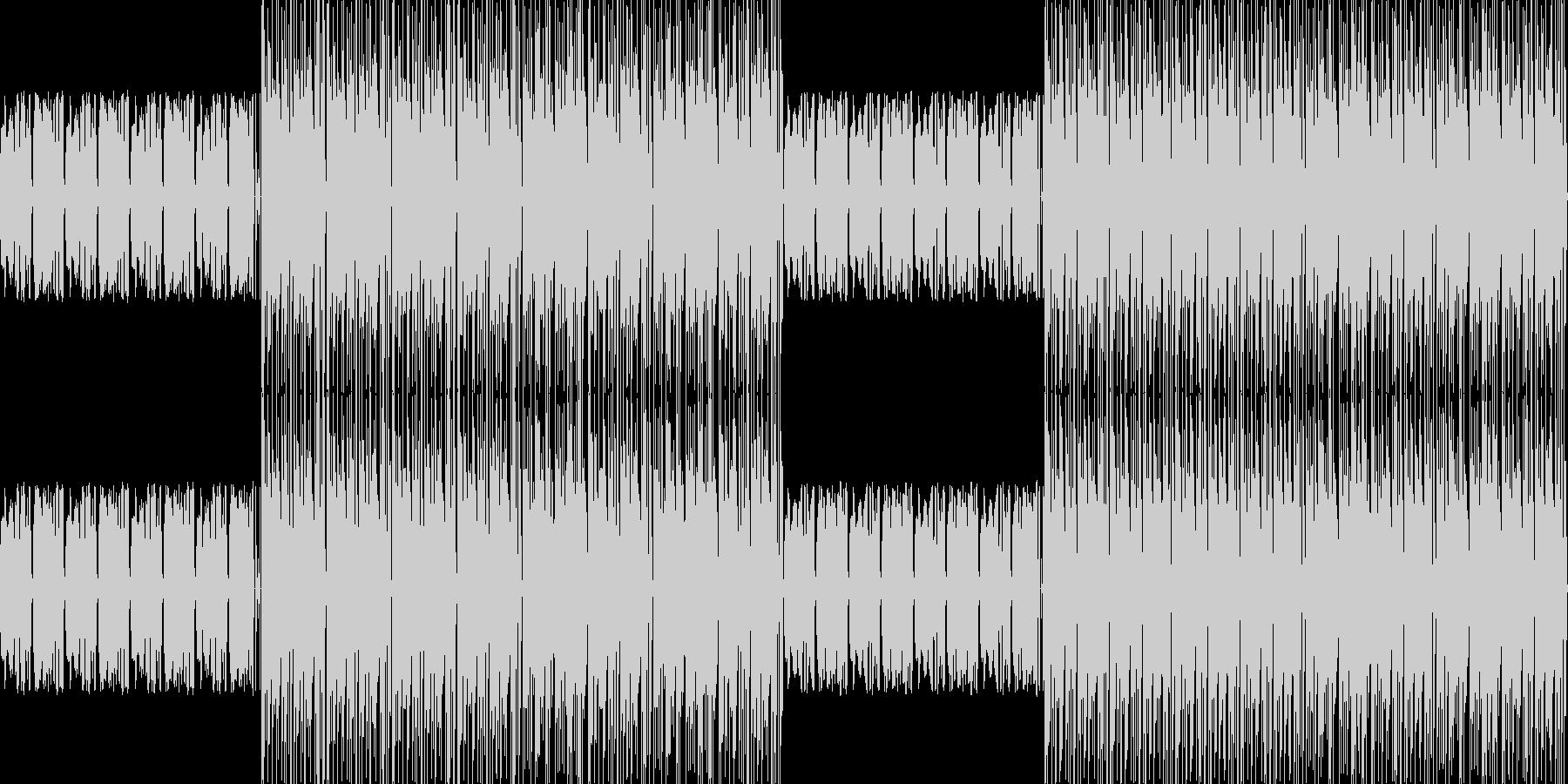 【アップテンポわくわくピアノJAZZ】の未再生の波形
