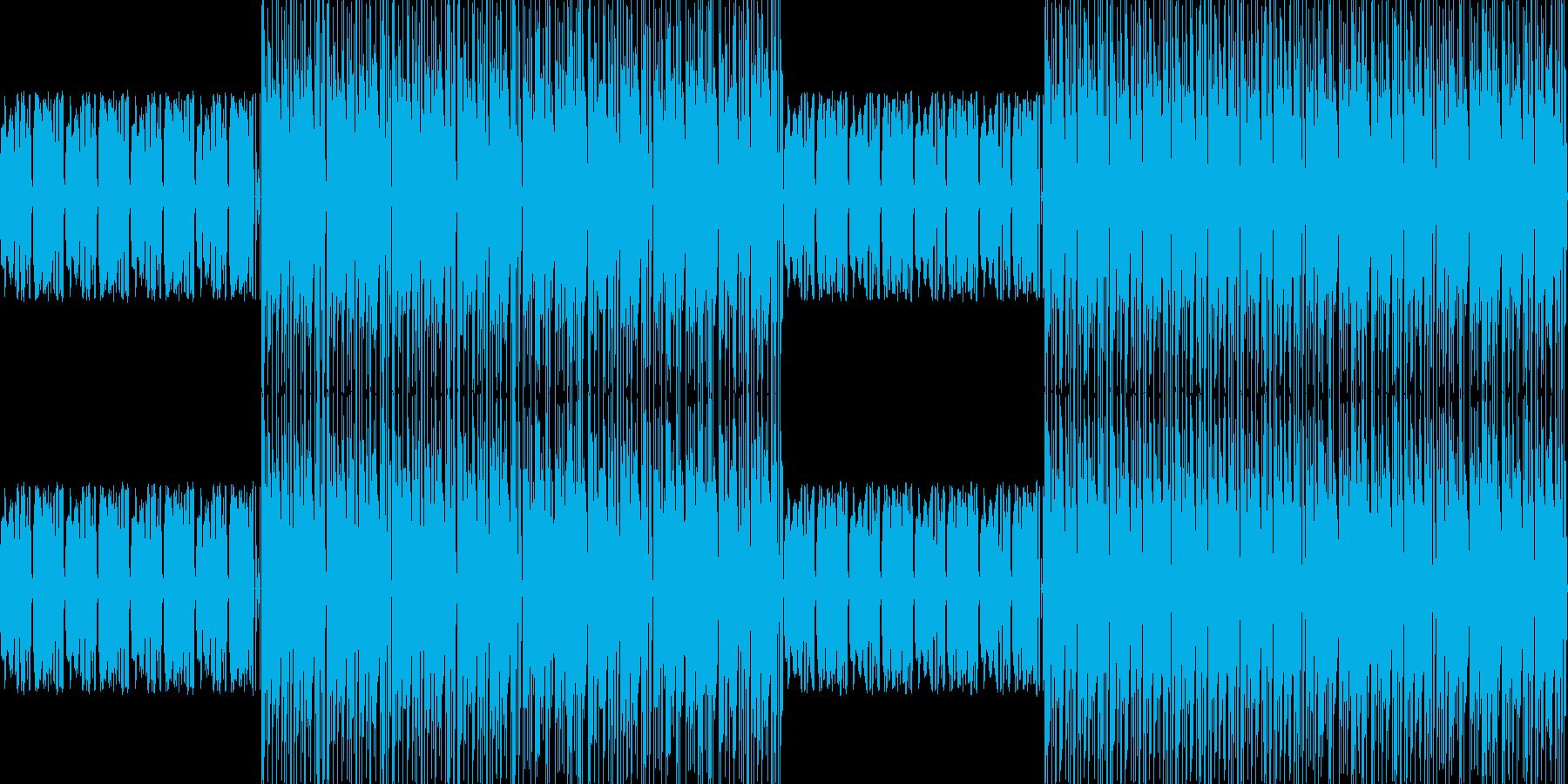 【アップテンポわくわくピアノJAZZ】の再生済みの波形