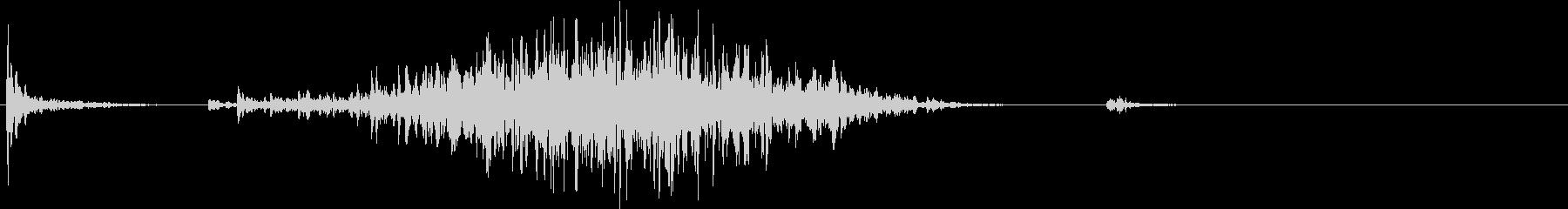【生録音】ペンで書く音 机 6の未再生の波形