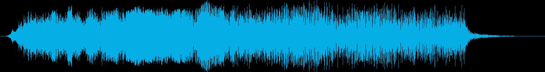 素材 ヒューッシングベースドロップ...の再生済みの波形