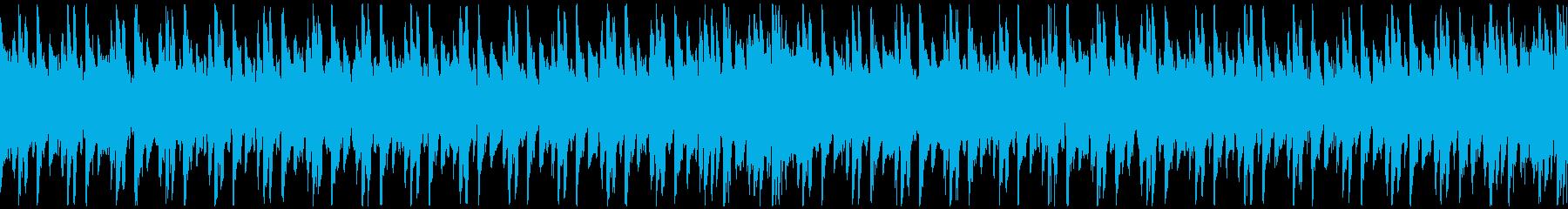 フラメンコ風ギター/情熱的ラテンループの再生済みの波形
