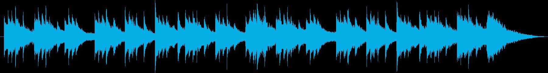 ピアノ 哀愁 ラブソング テーマ 感動の再生済みの波形