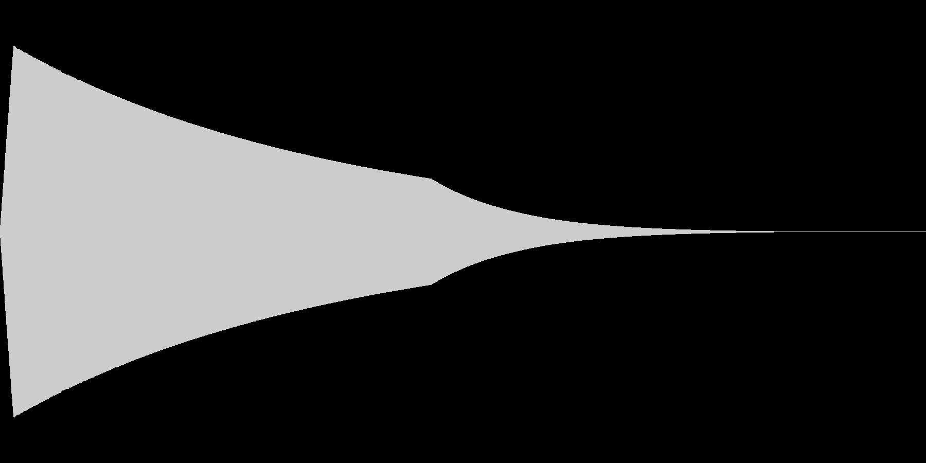 プォォォォォの未再生の波形