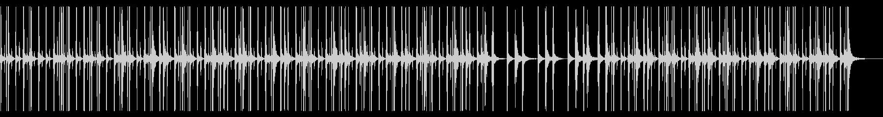 モダンで洗練されたストンプ CMなどにの未再生の波形