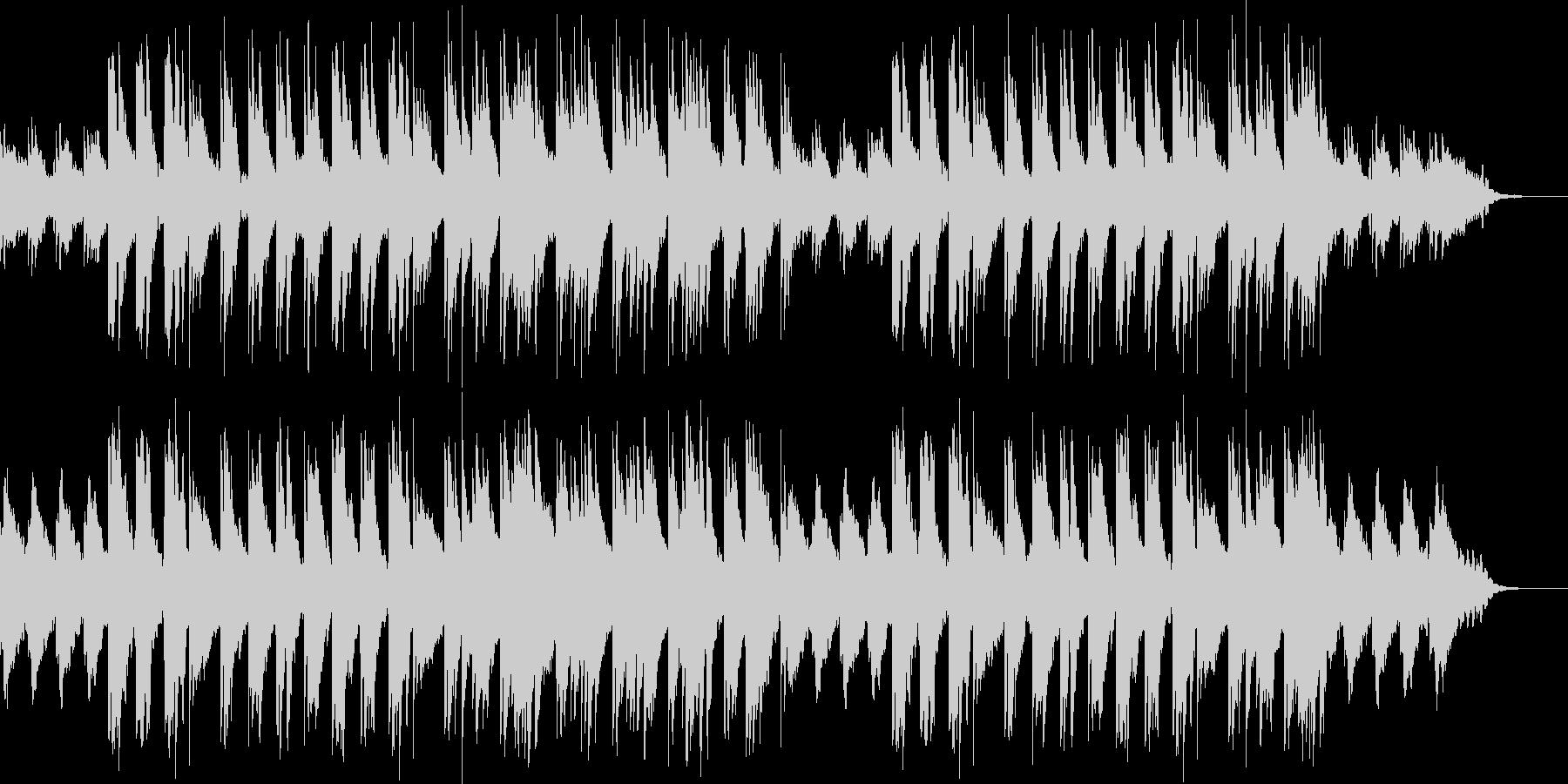 癒やし/アコースティックギター2の未再生の波形