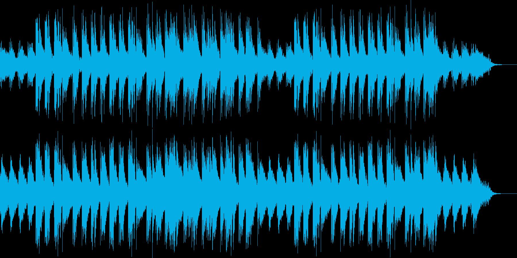 癒やし/アコースティックギター2の再生済みの波形