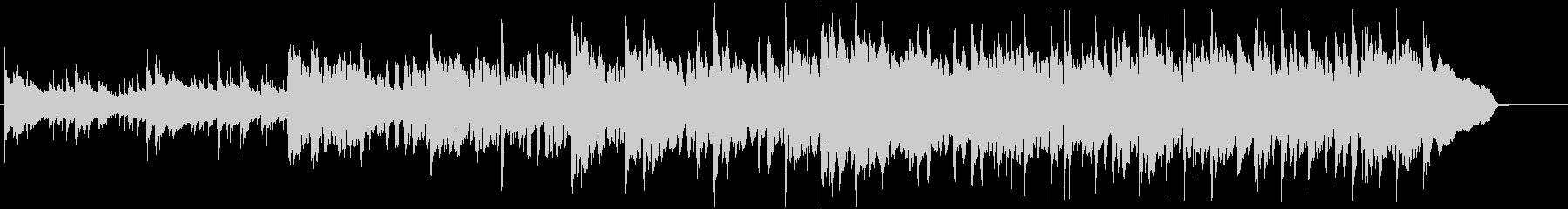 生ティンホイッスルとバイオリンのケルト曲の未再生の波形