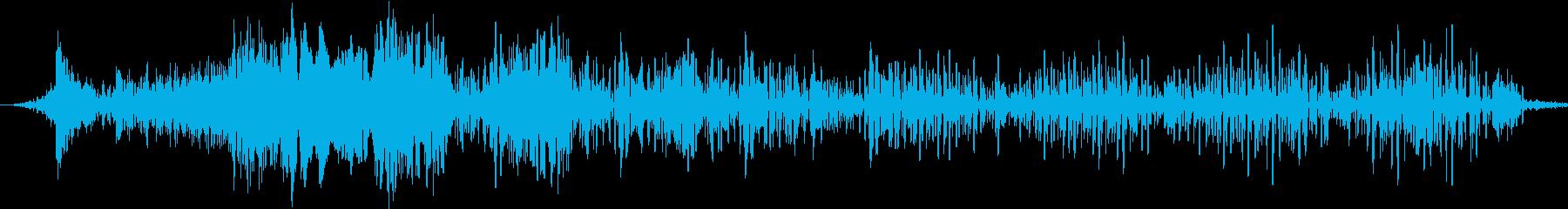 機械的遠隔測定ボタンまたはコンピュ...の再生済みの波形