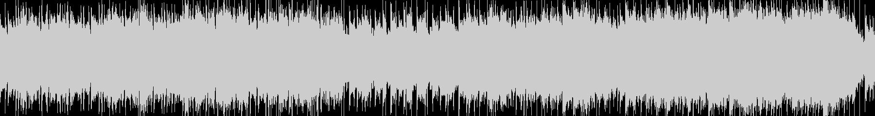 シューティングゲーム風ロック_ループ版の未再生の波形