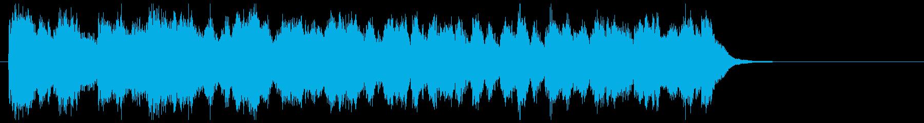 プログレの要素もあるフュージョンの再生済みの波形