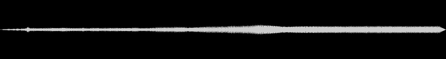 車 カマロ加速エキゾースト01の未再生の波形