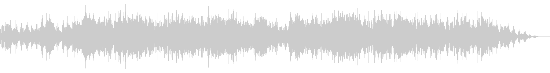 アトモスフィリックで不思議なBGMの未再生の波形