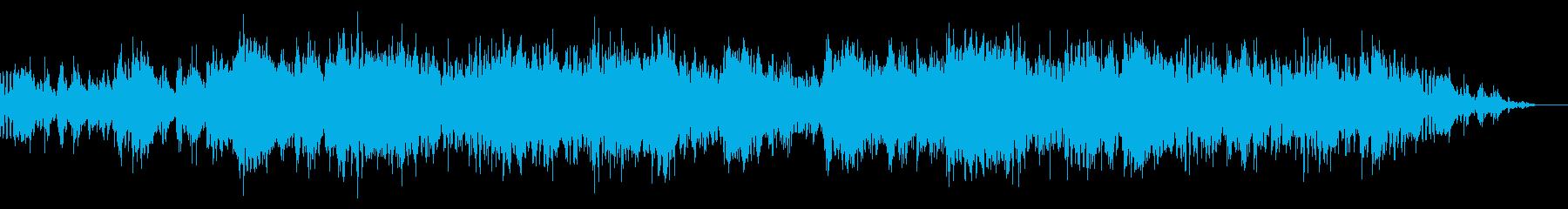 アトモスフィリックで不思議なBGMの再生済みの波形