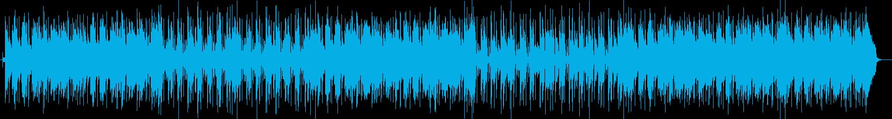 モダンなジャズテイストの楽曲の再生済みの波形