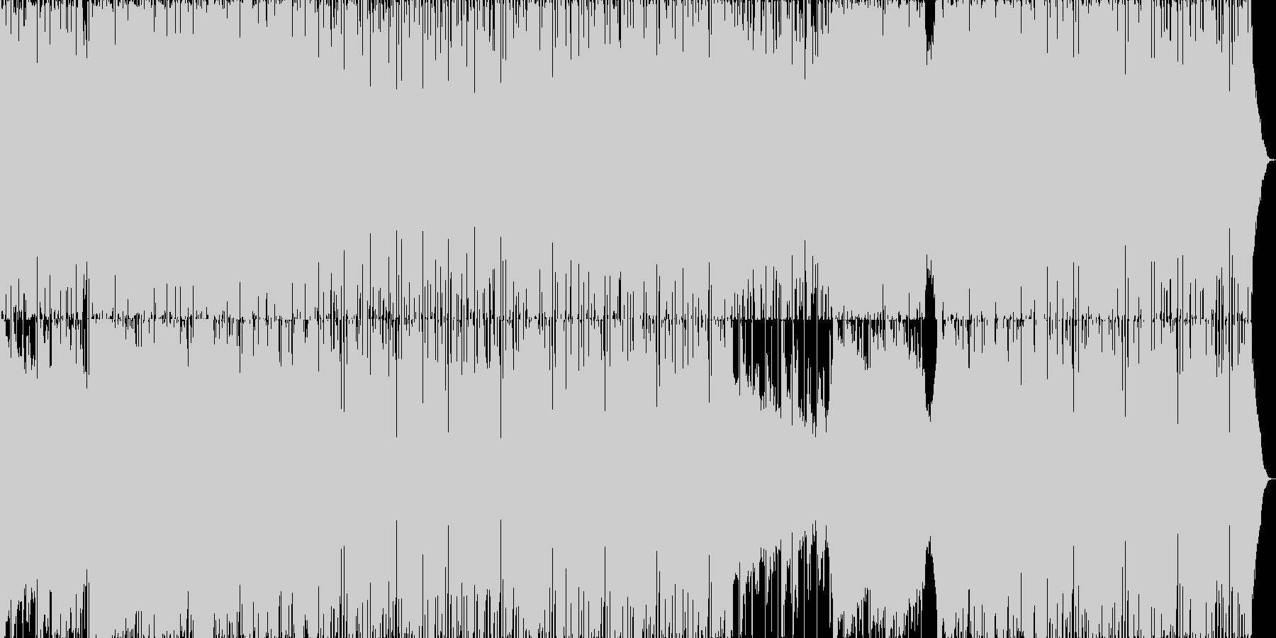 ノスタルジックダンスミュージックの未再生の波形