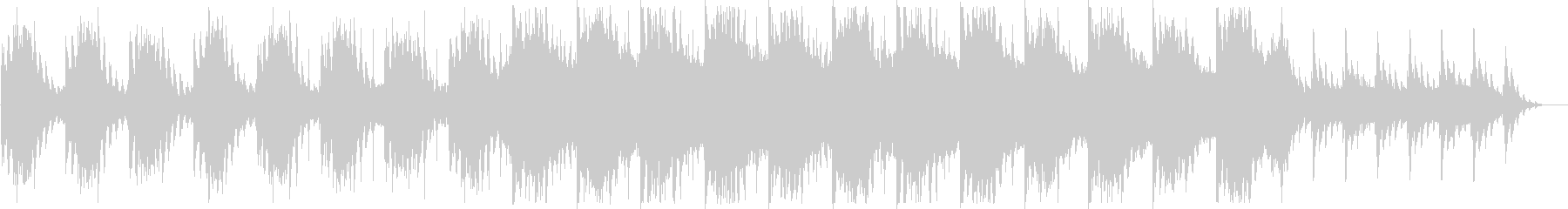 幻想的でダークなBGM ショートの未再生の波形