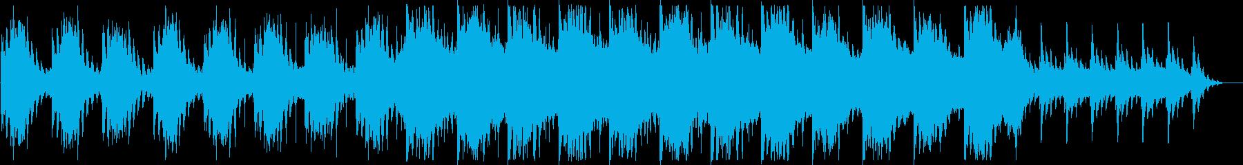 幻想的でダークなBGM ショートの再生済みの波形