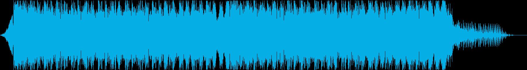 ついついアガるEDM_BGM!!の再生済みの波形