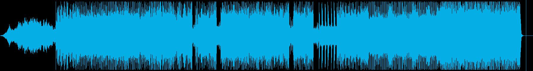 インストゥルメンタルロックソロ。エ...の再生済みの波形