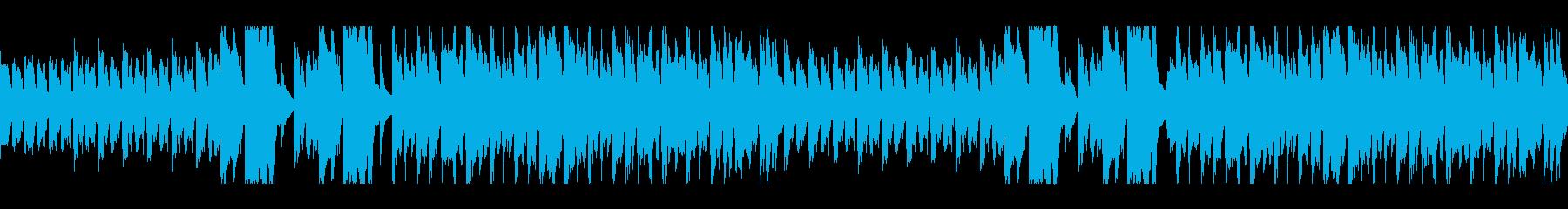コミカルでちょっと間抜けなBGMの再生済みの波形