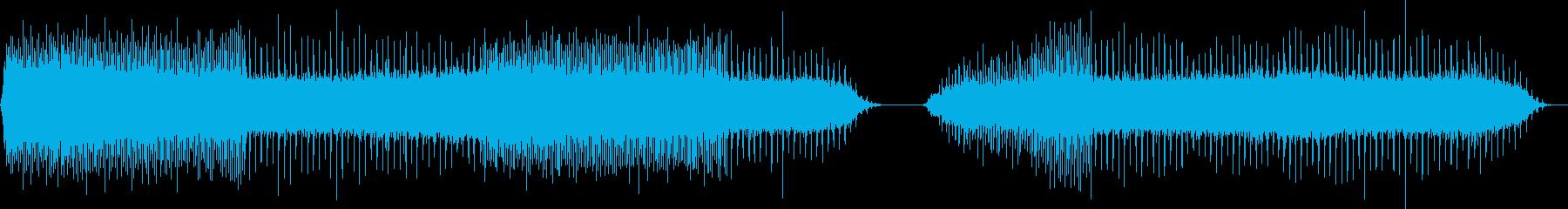 スプリンクラー1;一定のクリック数...の再生済みの波形