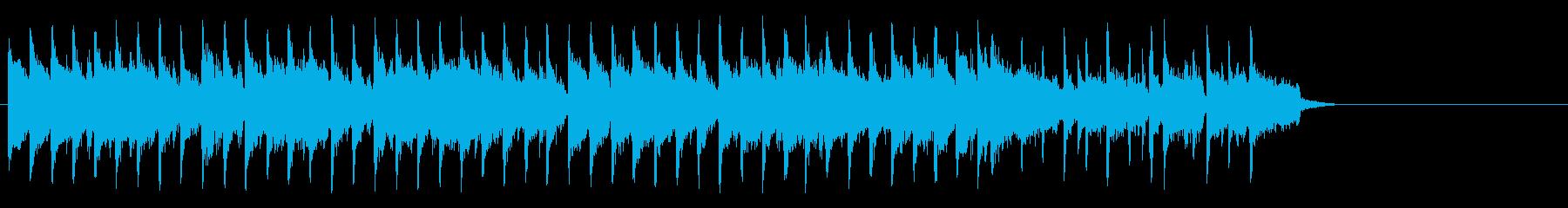 ブリティッシュなポップ(サビ~イント…)の再生済みの波形