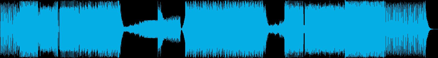 テクノリフを使ったイントロと、Ep...の再生済みの波形