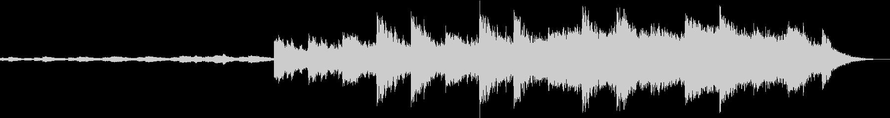 シネマティックサウンドの未再生の波形