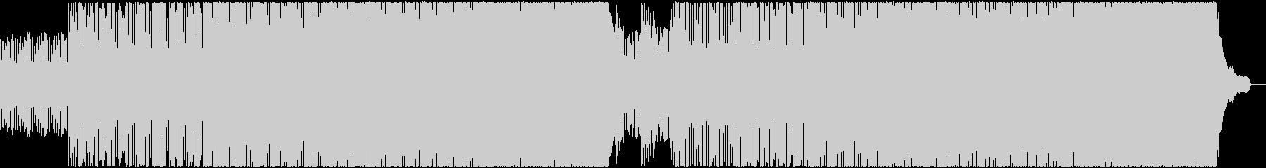 ピアノの機械的な曲の未再生の波形