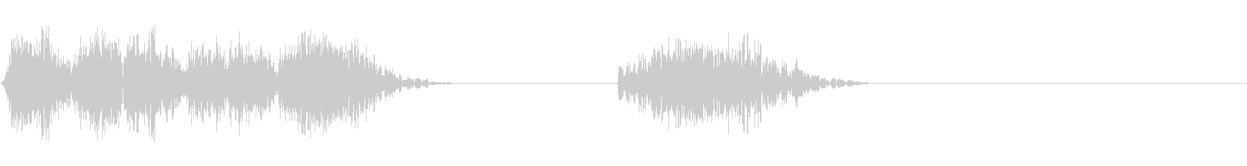DJスクラッチ05_リバース音05の未再生の波形