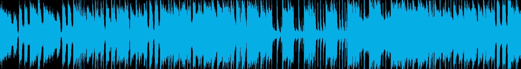 オーバードライブギター、フライング...の再生済みの波形