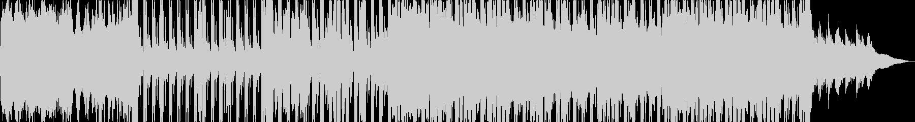 JAZZ FUNK メロディなしの未再生の波形