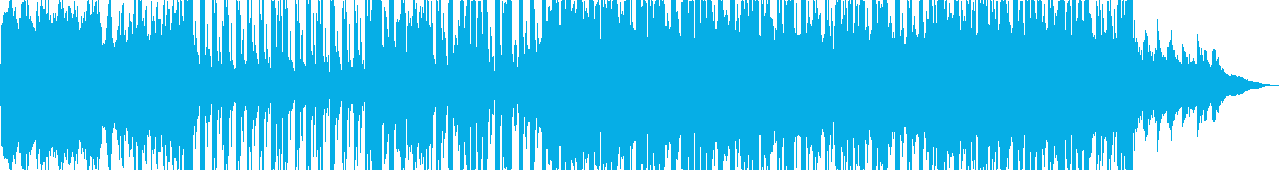 JAZZ FUNK メロディなしの再生済みの波形